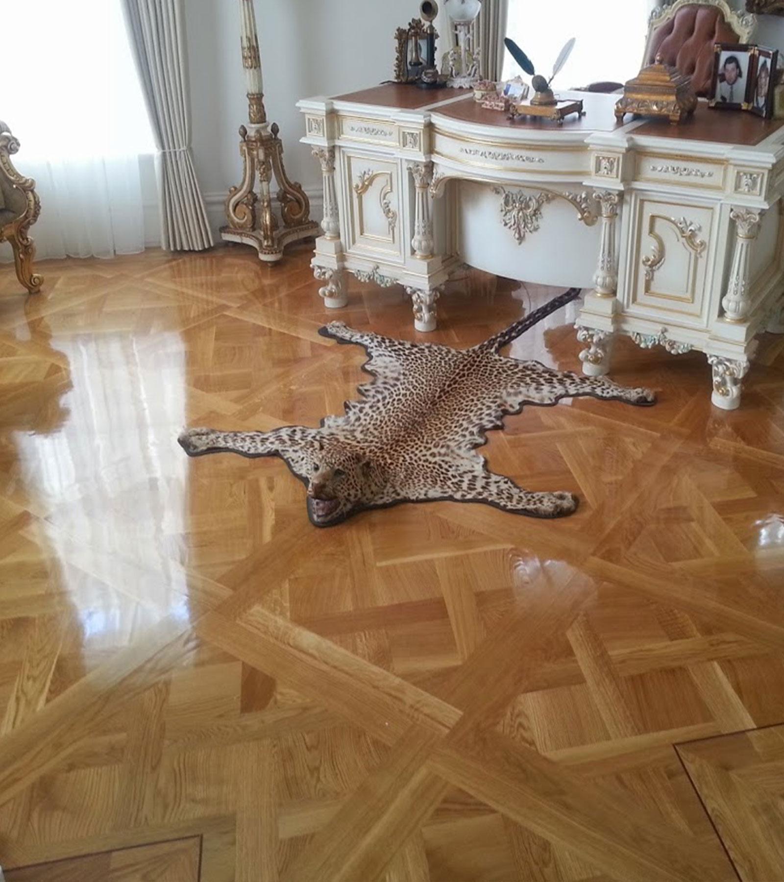 Solid Versailles Parquetry
